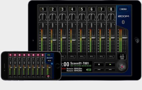 ZOOM F8 iOS 0