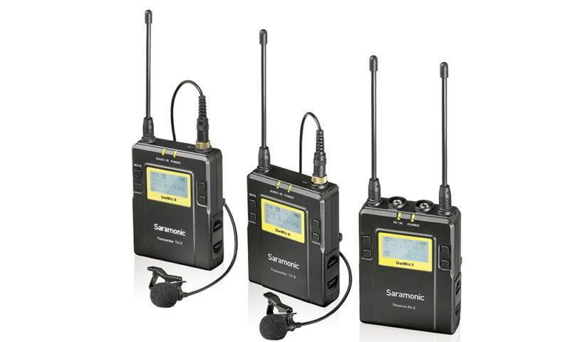Mic không dây wireless Saramonic UWMic9