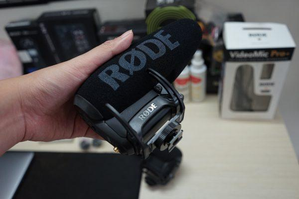 rode videomic pro plus ass