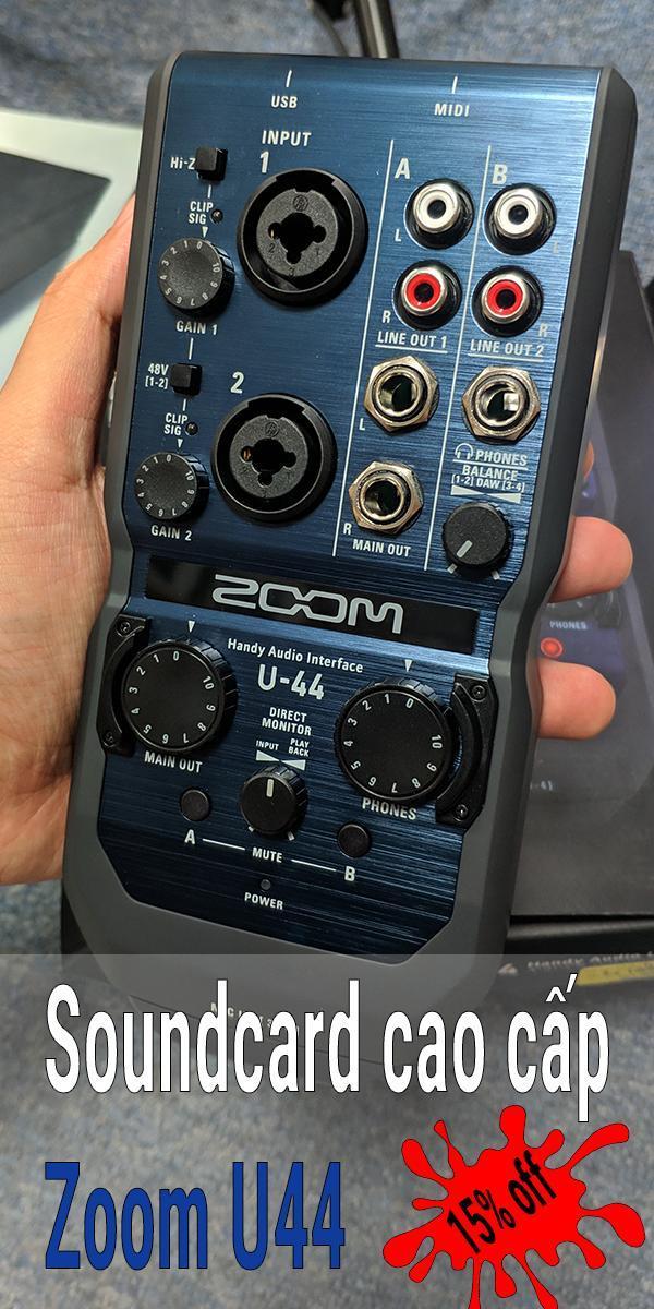 Zoom U44